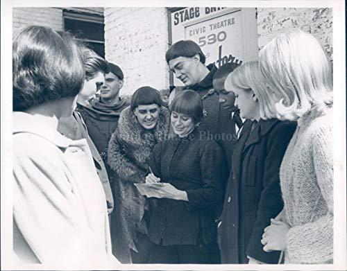 Repertory Storage - 1968 Photo Theater Suzzane Grossman Actress Celebrity Members Repertory 7x9