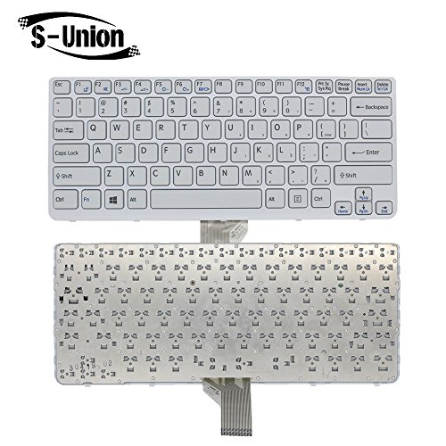 84247087e560 S-Union New US Layout Laptop Replacement Keyboard Frame for Sony ...