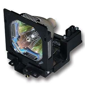 CTLAMP Lampara de proyector de reemplazo POA-LMP52 para SANYO PLC-XF35 / PLC-XF35N / PLC-XF35NL / PLC-XF35L, EIKI LC-X5 / LC-X5L / LC-X5DL