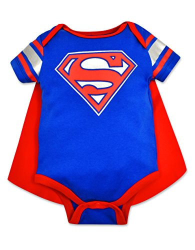 Baby Boys' Superman Onesie with Cape (3-6 Months)