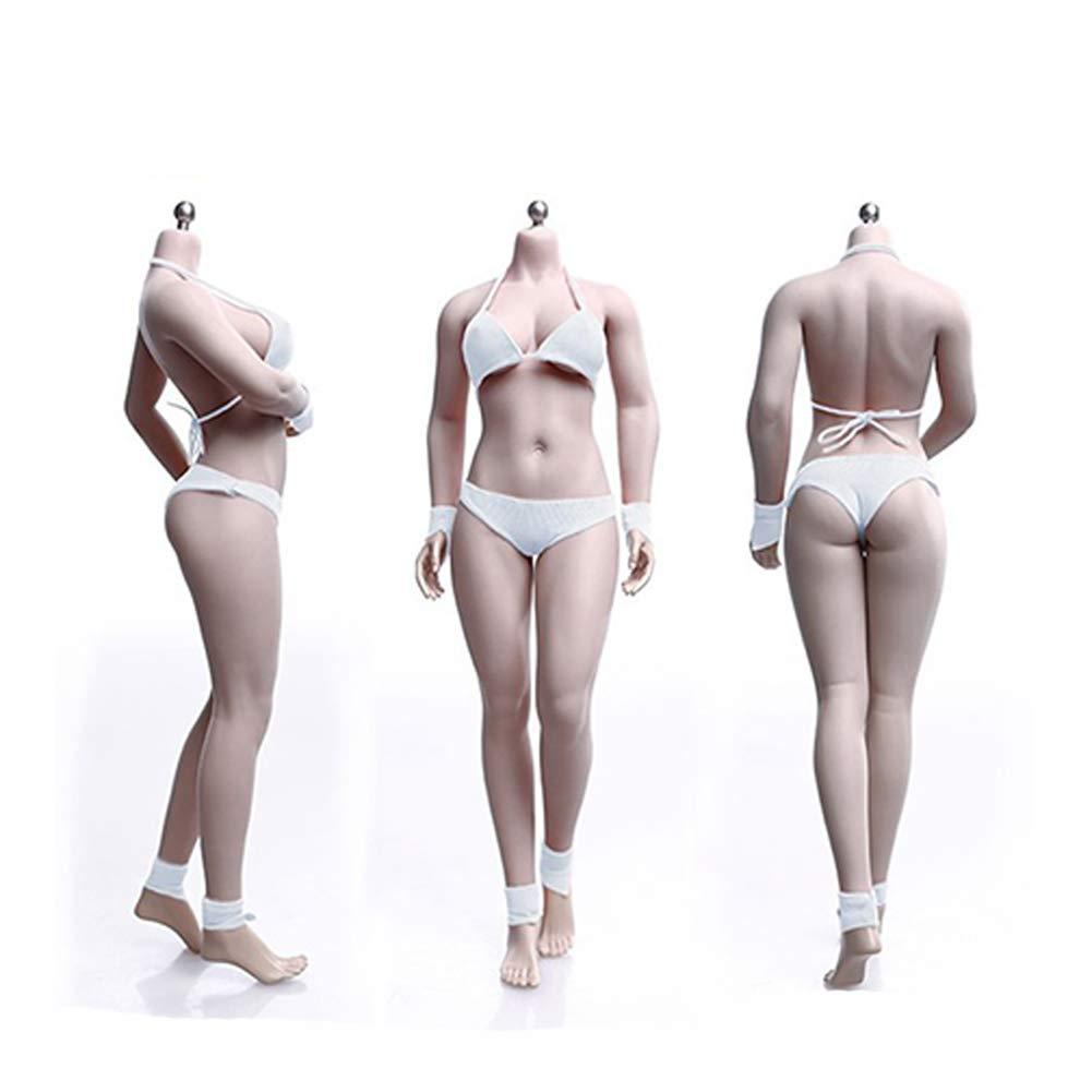 SZDM 1//6 maniqu/í de Acero Esqueleto Micro Grasa Femenina Cuerpo Femenino Super Flexible sin Costuras con Esqueleto de Metal