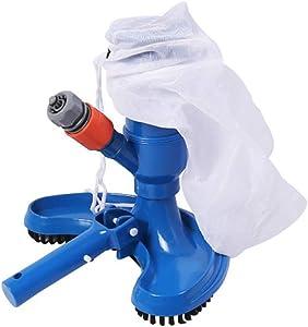 hebaotong Mini Jet Swimming Pool Vacuum Cleaner Head, Handheld Pool Vacuum Cleaner Brush Tools, Pond Fountain Vacuum Brush Cleaner for Ground Pools, Spas, Ponds, Inflatable Pools