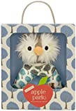 Apple Park Organic Patterned Rattle - Owl