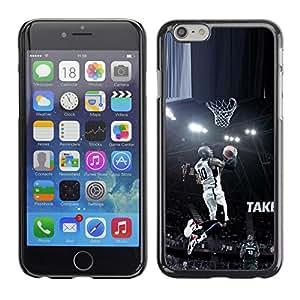 TaiTech / Prima Delgada SLIM Casa Carcasa Funda Case Bandera Cover Armor Shell PC / Aliminium - 10 Bryant Baloncesto - Apple Iphone 6 Plus 5.5