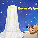 Stars Bed Canopy Glow in The Dark, Eimilaly Bed