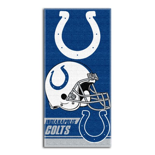 NFL Indianapolis Colts Double Covered Beach Towel, 28 x ()