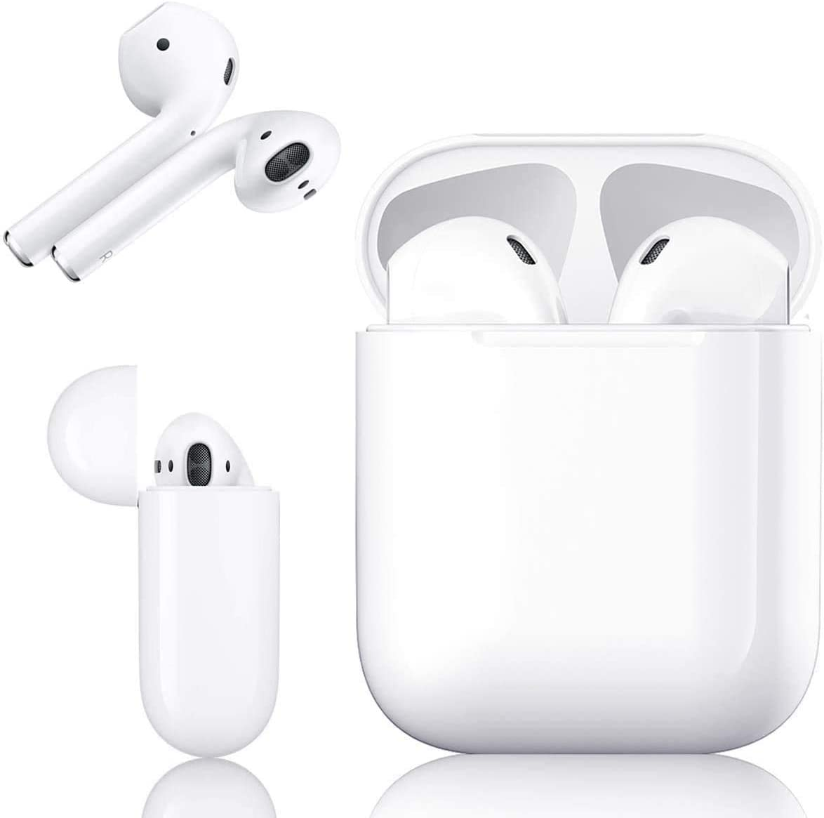 Bluetooth, Auriculares inalámbricos Bluetooth In-Ear Mini Auriculares Auriculares,emparejamiento automático emergente,Deportivos para Apple/Airpods/Android/iPhone/Samsung