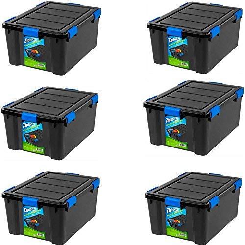 (Ziploc 60 Qt WeatherShield Storage Box (6))