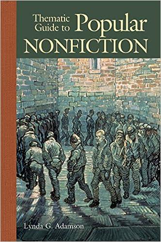 Thematic Guide To Popular Nonfiction Lynda G Adamson