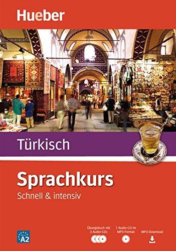 Sprachkurs Türkisch  Schnell And Intensiv   Paket  Buch + 3 Audio CDs + MP3 CD + MP3 Download