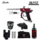 MAddog Azodin Blitz 3 HPA Paintball Gun Package Red Deal (Small Image)