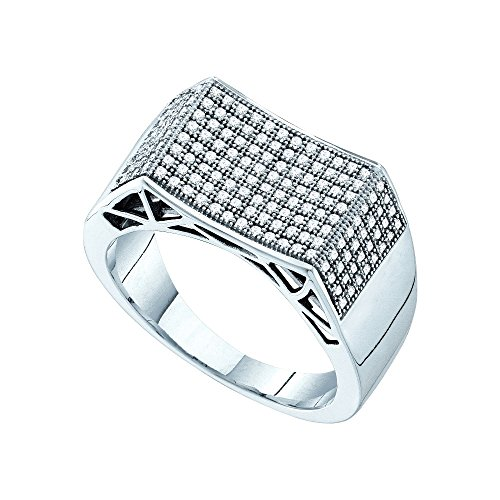 Prices for Diamond Concave Ring - 1