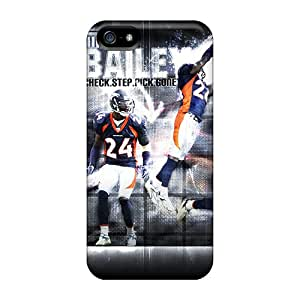 XDW172dkSY Tpu Case Skin Protector For Iphone 5/5s Denver Broncos With Nice Appearance