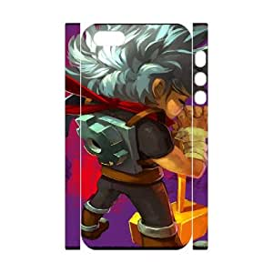 Bastion iphone 5 5s Cell Phone Case 3D White Customized Toy pxf005-7829423