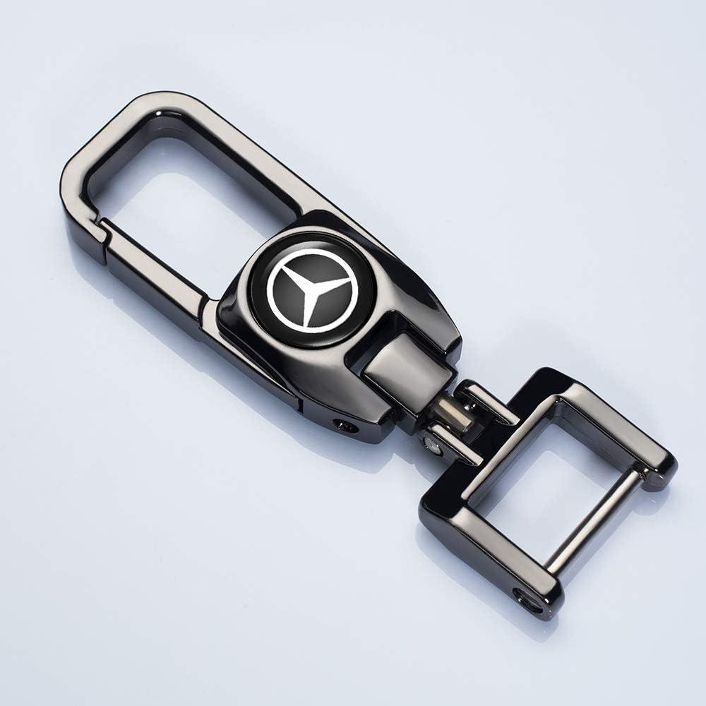 N//O 1 Pack Key Chain Suit for GMC Car Logo Keychain Key Chain Keyring Family Present Suit for GMC ram All Model