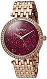 CARAVELLE NEW YORK Womens 44L221 Dress Pink Dial Watch