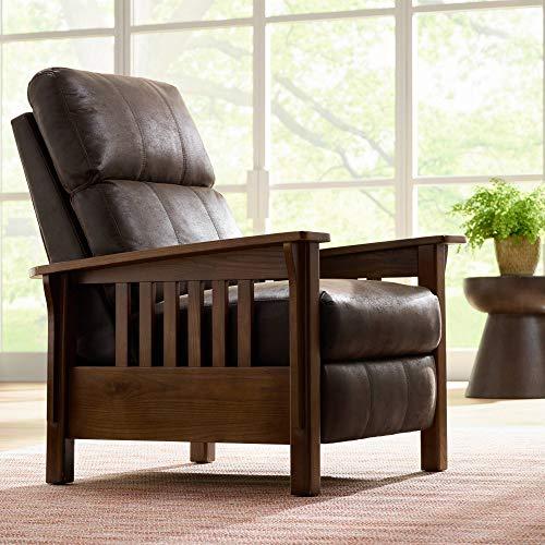 Evan Palance Dixie Espresso 3-Way Recliner Chair
