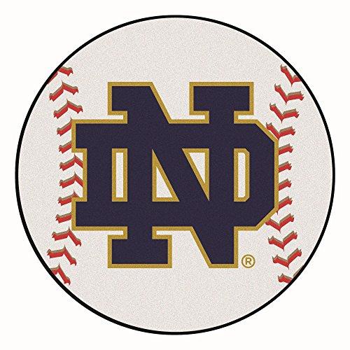 Notre Dame Baseball Rug - Fan Mats University of Notre Dame Baseball Area Rug