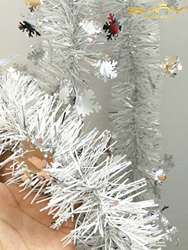 Wholesale 2M Garland Christmas Decor Christmas Tree Hanging Pine Tinsel Garland Christmas Decor Ornament Hot Sale (TG002) Christmas Tinsel Garland Wholesale