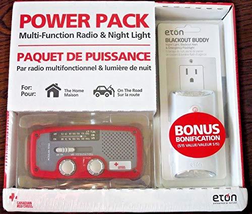 Eton Microlink FR160 Canadian Multi-Function Radio + Blackout Buddy Light