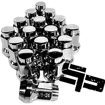 Front Wheel Lug Nuts /& Studs Set 24 3//8 Polaris RZR 800 2009-2014 UTV All Front Wheels Kit