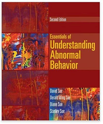 Bundle: Essentials of Understanding Abnormal Behavior, 2nd + CourseMate, 1 term (6 months) Access Code