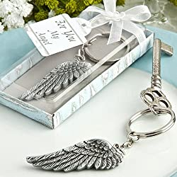 Angel Wing Key Chain Favors (30)