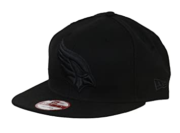 7e9a65a2f68 New Era NFL Arizona Cardinals Black On Black Snapback Cap 9fifty Limited  Edition