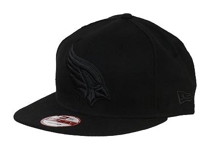 7e9a65a2f68 New Era NFL Arizona Cardinals Black On Black Snapback Cap 9fifty Limited  Edition