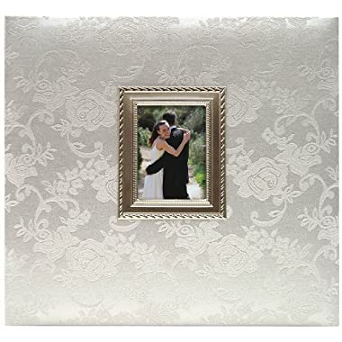 MCS MBI Industries MBI 850011 Wedding Scrapbook Album with Metal Frame Insert, 12 by 12-Inch Page , 13.2 x 12.5 Album