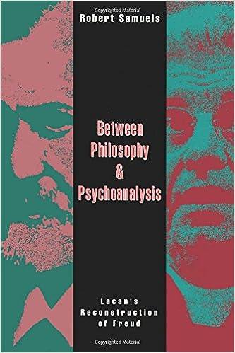 Between philosophy and psychoanalysis lacans reconstruction of between philosophy and psychoanalysis lacans reconstruction of freud robert samuels 9780415906760 amazon books fandeluxe Gallery