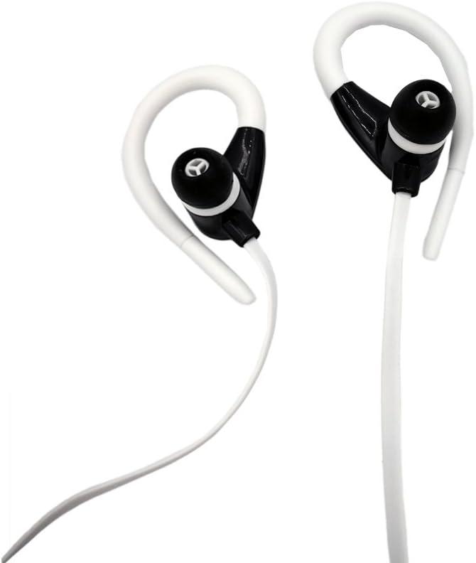 Auriculares Bluetooth 4.2, Auriculares Inalámbricos In Ear con Micrófono Cascos Bluetooth con Sonido Estéreo Llamadas a Manos Libres para iPhone, Samsung, Sony, HUAWEI (BLANCO): Amazon.es: Instrumentos musicales