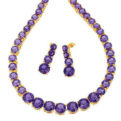 - RIZILIA Jewelry Set with 19