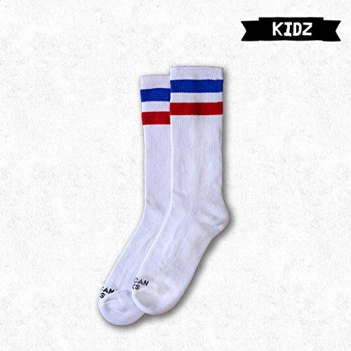 Blanc Socks Chaus Roller Pride Enfants Mid Retro American High Patinage Derby 7vqxpSwn