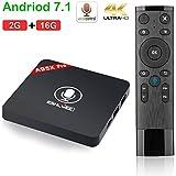 ESHOWEE Android 7.1 TV Box with Voice Remote Control Amlogic S905W Quad-core DDR3 2GB 16GB 4K UHD WiFi