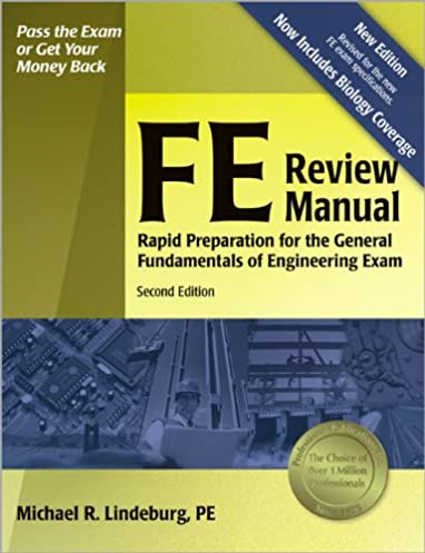 fe review manual rapid preparation for the general fundamentals of rh amazon co uk fe review manual pdf download fe review manual civil