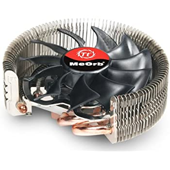 Thermaltake Meorb Low Profile CPU Cooler for HTPC Case with 4-Pin PWM Fan - CLP0527