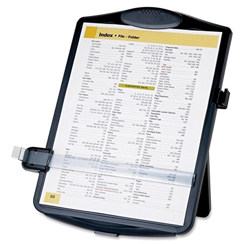 Writing Stand (Sparco SPR38950 Easel Document Holders, Adjustable, 10 x 2 x 14 Inches, Black)