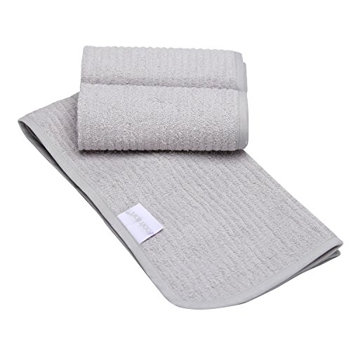Gray Terry Cloth Covers (Serta iComfort Premium Change Liners, Gray - 3 Count)