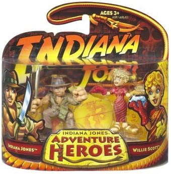Indiana Jones Adventure Heroes - Indiana Jones and Willie Scott by Indiana Jones: Amazon.es: Juguetes y juegos
