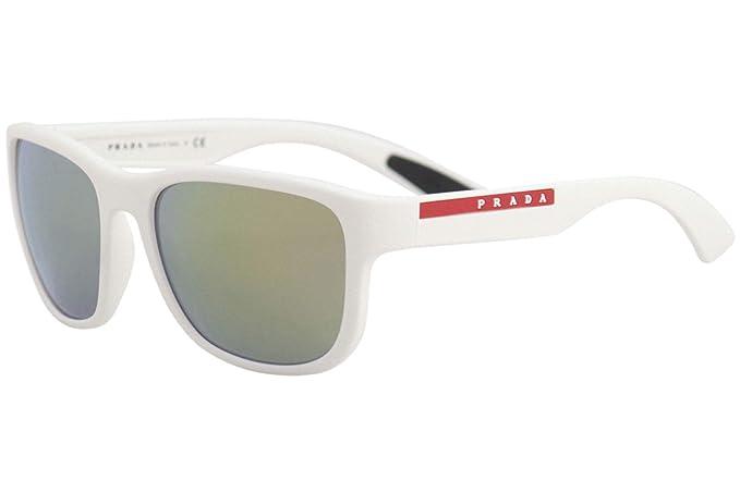 Prada Linea Rossa 0PS 01US Gafas de sol, White Rubber, 58 ...