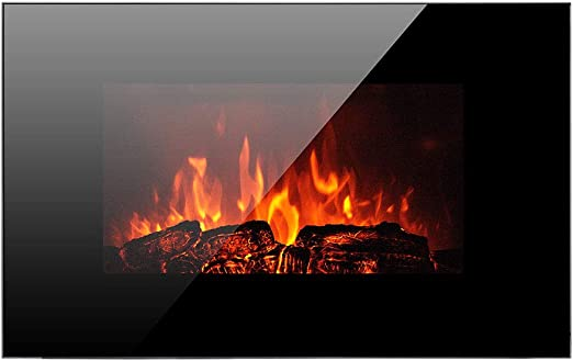 Amazon Com Homeleader 36 Electric Fireplace Heater With Remote