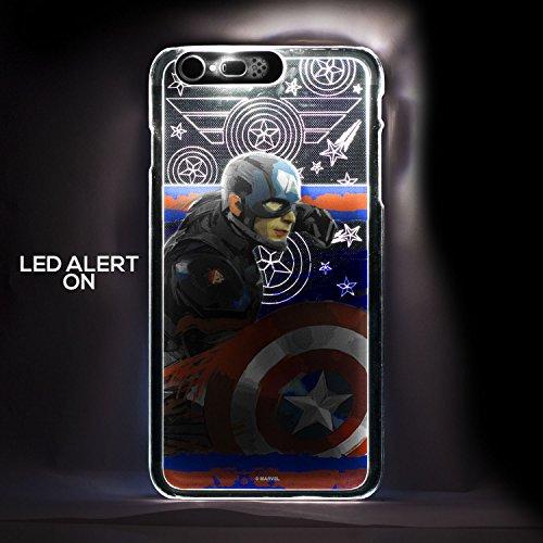 iphone 6 6s cases sojitek apple iphone 6 6s 4 7 marvel captain america civil war silver. Black Bedroom Furniture Sets. Home Design Ideas
