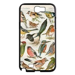 Birds ZLB603314 Brand New Case for Samsung Galaxy Note 2 N7100, Samsung Galaxy Note 2 N7100 Case