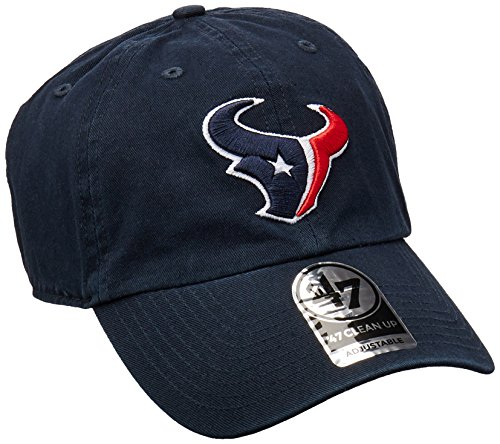 Houston Texans 47 Brand NFL Navy Clean Up Adjustable - Texans Houston Hat