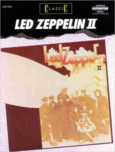 led zeppelin guitar tab book