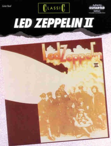 Download Led Zeppelin II: Classic (Authentic Guitar-Tab Edition) (v. 2) ebook