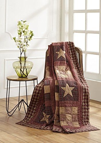 Olivia's Heartland Bradford Star Quilted ()