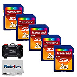 Image of the product Transcend 2GB SD Secure that is listed on the catalogue brand of Photo4Less.