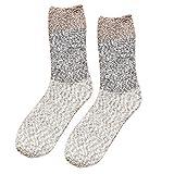 ⁑⁑Cute Fuzzy Floor Socks, Women Thicker Anti-slip Coral fleece Soft Fluffy Winter Warm Sleep Floor residentD (G)